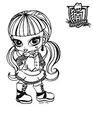 monster high baby coloring pages. Simple Pages Baby Coloring Page Monster High Pages Images  For Adults To Monster High Baby Coloring Pages E
