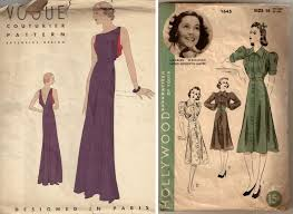 Vintage Dress Patterns Free