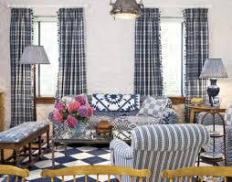 Plaid Curtains For Living Room Amusing Plaid Curtains For Living Room Weaselmediacom