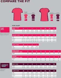 Image Result For Unisex T Shirt Size Conversion Chart