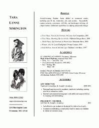 College Application Resume Example Gorgeous 48 Lovely High School Resume For College Bizmancan