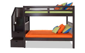 twin bunk beds. Beautiful Beds Keystone Stairway Twin Bunk Bed Intended Beds B