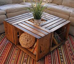 Unique Coffee Table Ideas Versatile Storing Goods Lots And Of Books  Patterned Carpet Sofa
