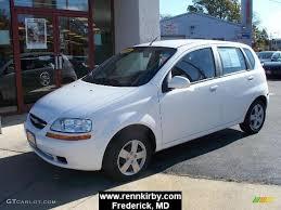 2006 Summit White Chevrolet Aveo LS Hatchback #4835908 | GTCarLot ...