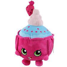 Shopkins Cupcake Chic 32cm Kids Soft Plush Toy Fun Cuddly Stuffed