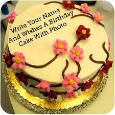 Name Photo On Birthday Cake Photo Frame Apps On Google Play