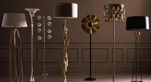 black floor lamps