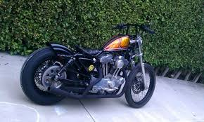 harley sportster rear fender motorcycle wallpaper
