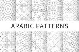Islamic Geometric Patterns Cool Islamic Seamless Geometric Pattern Graphic Patterns Creative Market