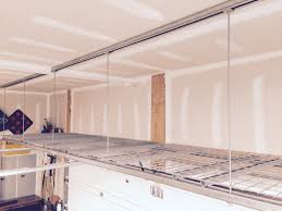 been wanting to hang shelves from the garage ceiling for a couple years now and with home despot ing me off on starting to think i
