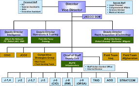 Organization Chart For Jieddo 43 Coic Counter Ied