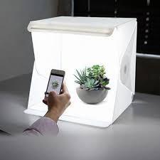 Foldable Photography Light Box Details About 24cm Folding Lightbox Photography Studio Led Light Portable Box Background Tent