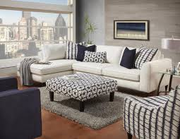 blue and white furniture. Fusf Rev Sectional Living Room Chair With Ottoman White The Revolution Fabric Story Wg R Furniture Livingroom Chairs For Sale Navy Bedroom Blue And By In