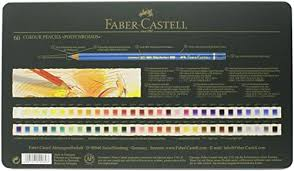 Faber Castel 110060 Polychromos Colored Pencil Set In Metal Tin 60 Pieces