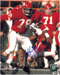 City Kansas 8x10 Bobby 1 Bell Autographed Chiefs Photo