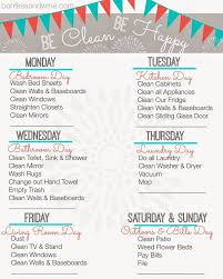 monthly house cleaning schedule template housecleaning schedules cleaning schedule template printable house