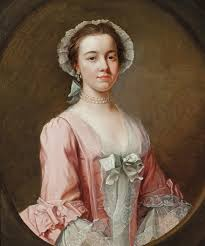 th century portraiture key questions christie s attributed to reverend james wills active 1740 1777 portrait of a lady traditionally identified as ann burney half length in a pink dress a lace