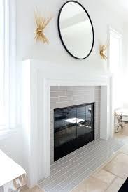 fireplace surround ideas modern modern minimal fireplace design living mosaic tile fireplace surround ideas