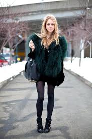 faux fur trend for a little bit of inspiration on how to wear it they can pull off the heavy faux fur coat and still make it look feminine and stylish