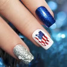 patriotic 4th of july nail designs
