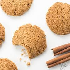 low carb gluten free ginger snaps cookies recipe