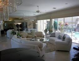 living room with mirrored furniture. Living Room With Mirrored Furniture E