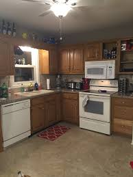 Kitchen Cabinets For Less General Finishes Gel Stain Kitchen Cabinet Makeover A Home Crafter