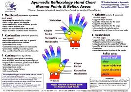 Marma Points Chart Barbara Kunz Reflexology News
