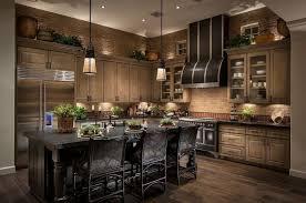 attractive kitchen bench lighting. Kitchen Floor Lighting. This Beautiful Has Earth Tone Bricks Lining The Walls And A Attractive Bench Lighting F