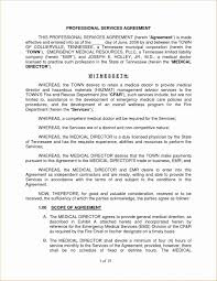 Contract Service Agreement Delectable Managed Service Agreement Template Lovely Contract Pdf Unique New
