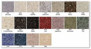 cultured marble colors countertops