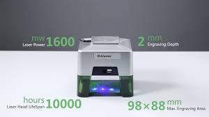 <b>Alfawise C50 Mini Wireless</b> Smart Laser Engraver Cutter-Gearbest ...