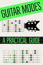 Guitar Modes A Practical Guide To Modal Shapes Guitar