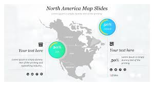 Editable Map Of Usa For Powerpoint Usa Map Free Powerpoint Template