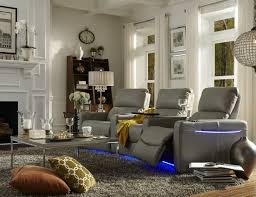 Home Theater Seating Led Lighting Decorating Home Theater Chair By Palliser With Led Lights