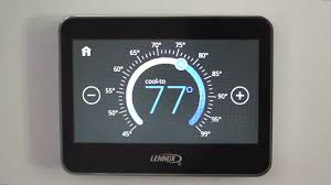 lennox thermostat. basic features touch screen thermostat lennox i