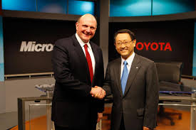 Microsoft Used Cars Toyota Teams With Microsoft On Connected Car Venture Boss Auto