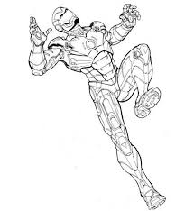More educational videos coloring pages shosh channel : Iron Man Coloring Page For Kids Netart
