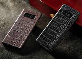 galaxy note 9 8 crocodile leather cases galaxy note 8 alligator leather cases