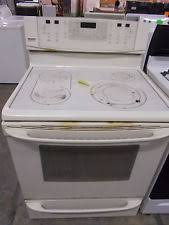 kenmore glass top stove. ap2955 kenmore elite bisque 5 burner glass top electric range stove 7