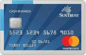secured credit card suntrust credit cards