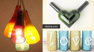 Decorating Empty Wine Bottles 100 Amazing DIY Wine Bottle Crafts 88