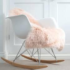 blush fur rug baby pink sheepskin blush fur area rug