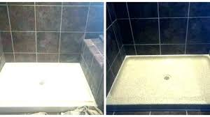 shower resurface resurface shower pan tile fiberglass shower pan resurface shower tub shower base resurfacing cost