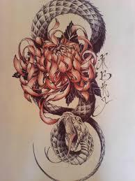 все изображения змея тату япония Heliographru