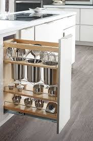 A kitchen cabinet pull-out for storage of kitchen utensils - I need this!