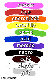 Colors In Spanish Google Search Makeup And Beauty Pinterest