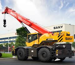 Sany Src550 Specifications Load Chart 2017 2019