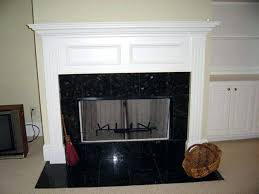 granite fireplace surround thickness pictures and hearth