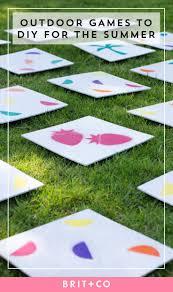 Diy Outdoor Games 50 Outdoor Games To Diy This Summer Brit Co